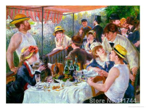 Impressionist portraits The Luncheon of the Boating Party