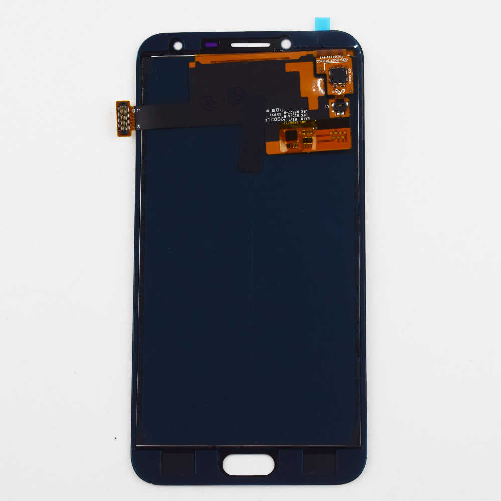 J4 عرض مجموعة المحولات الرقمية لشاشة تعمل بلمس لسامسونج غالاكسي J4 2018 J400 j400F شاشة الكريستال السائل J400F/DS J400G/DS شاشة العرض