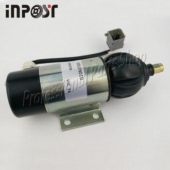 цена на New 12V 849370 Fuel Shutdown Solenoid 859079 872826 For Perkins 2006, 3008, 3012 Series