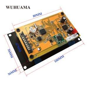 Image 4 - Czarny tekst pokaż LCD pojemnościowy ekran dotykowy pilot zdalnego SD MP3 odtwarzacz IR moduł kontrolera USB WMA WVA FLAC LRC Bluetooth radio