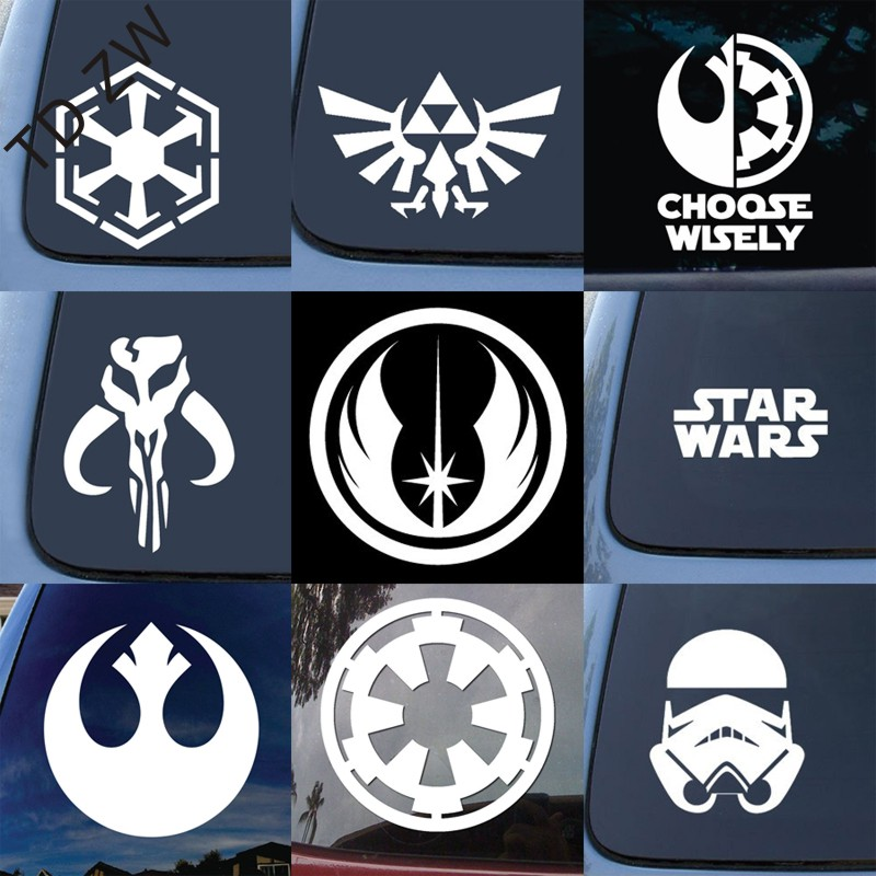9pcs Movie Stickers Star Wars Sticker Car Suitcase Skateboard Laptop Stickers With A Long Standing Reputation