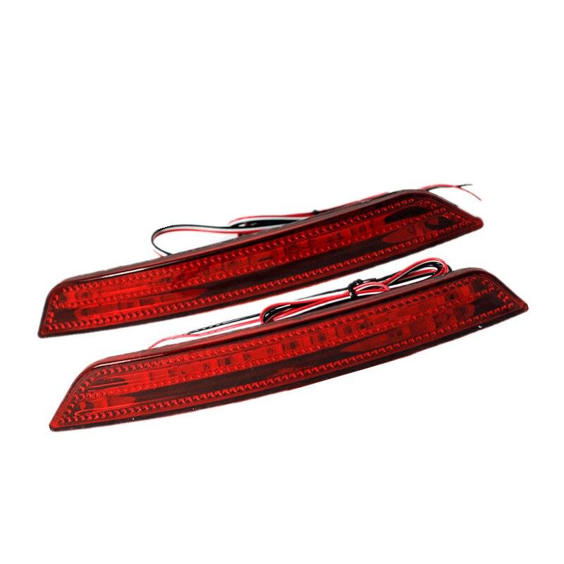 RED Reflector LED back Tail Rear Bumper Light Brake lamp led brake light for Ford Mondeo mk3 2007~2010