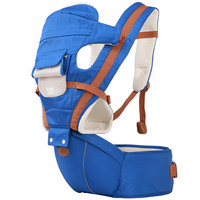 New Color Blocking Multidunctional Baby Carriers Horizontal Kids Infant Newbron Hipseat Four Seasons Breathable Baby Sling