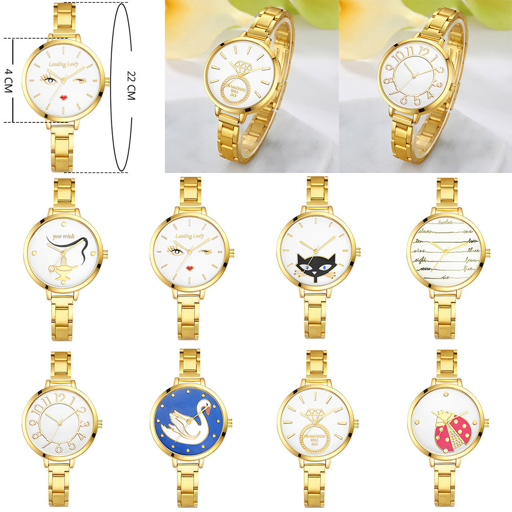 2017 Relojes Hombre Women Watches Relogio Feminino Clock Women Casual Simple Quartz Anal ...