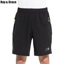 Men Black Running Shorts Zipper Pocket Outdoor Sport Shorts Men Gym Workout Training Shorts Elastic Waist Reflective Shorts