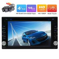 6 2 Android 6 0 Quad Core 1 6GHz In Dash Car Stereo DVD Player For