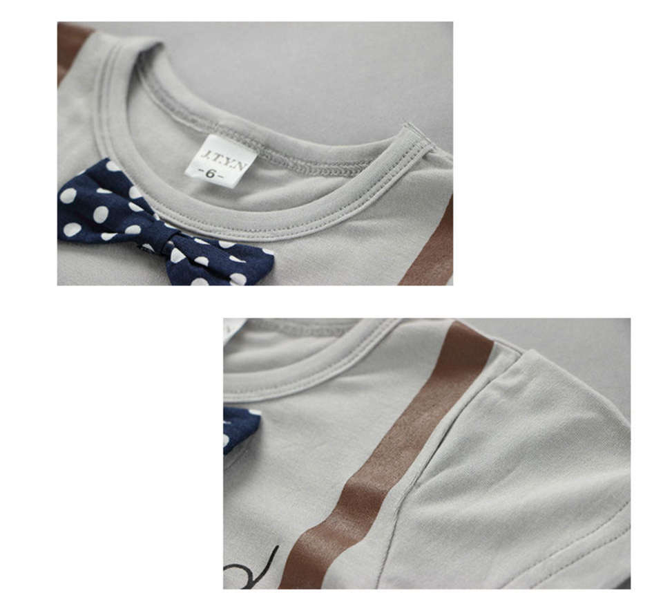 Novo Short t-Shirt do Terno Do Bebê