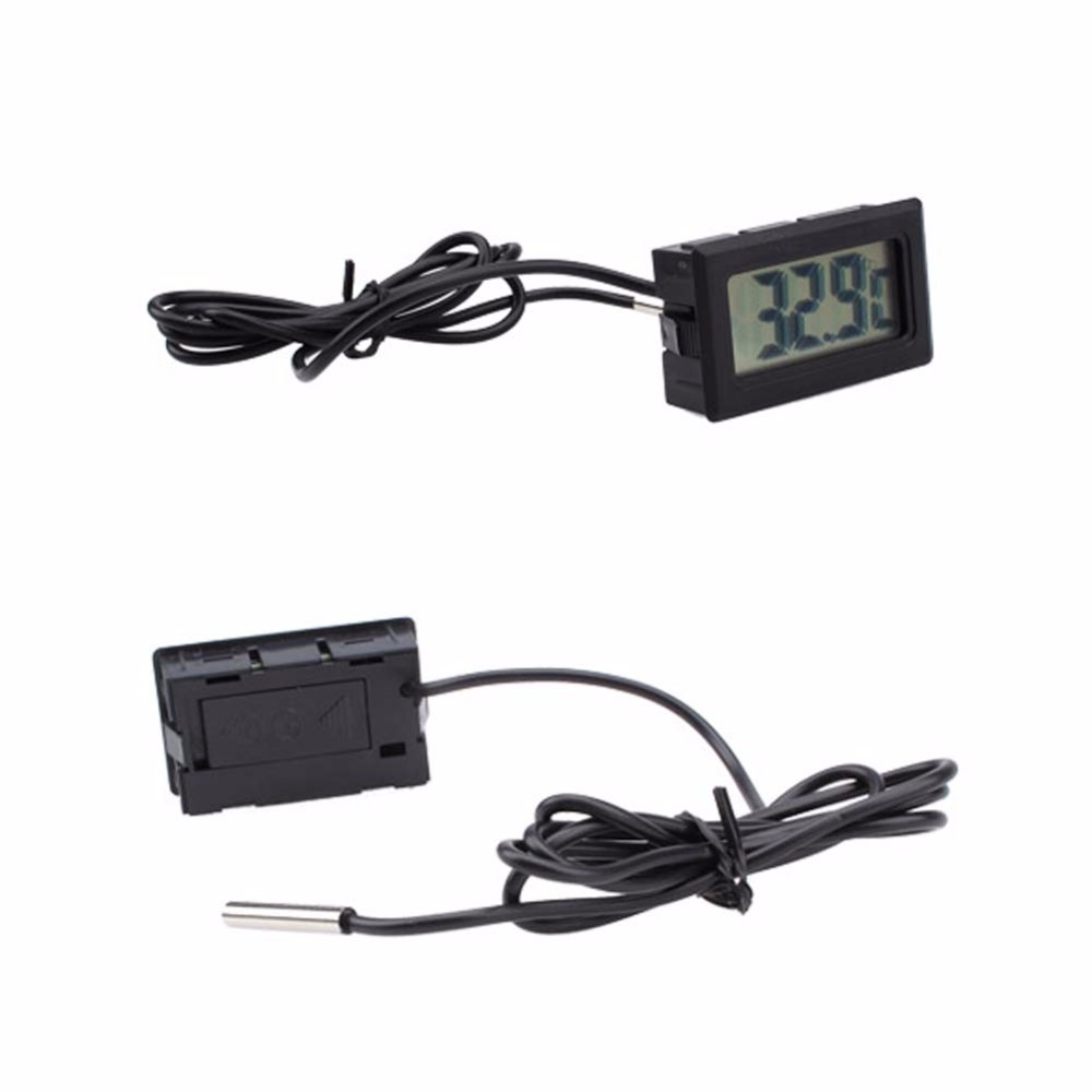 High Quality Digital LCD Thermometer House Temperature Sensor Fridge Freezer Thermometer Brand LED Thermometer BS dc108 3 0 lcd thermometer