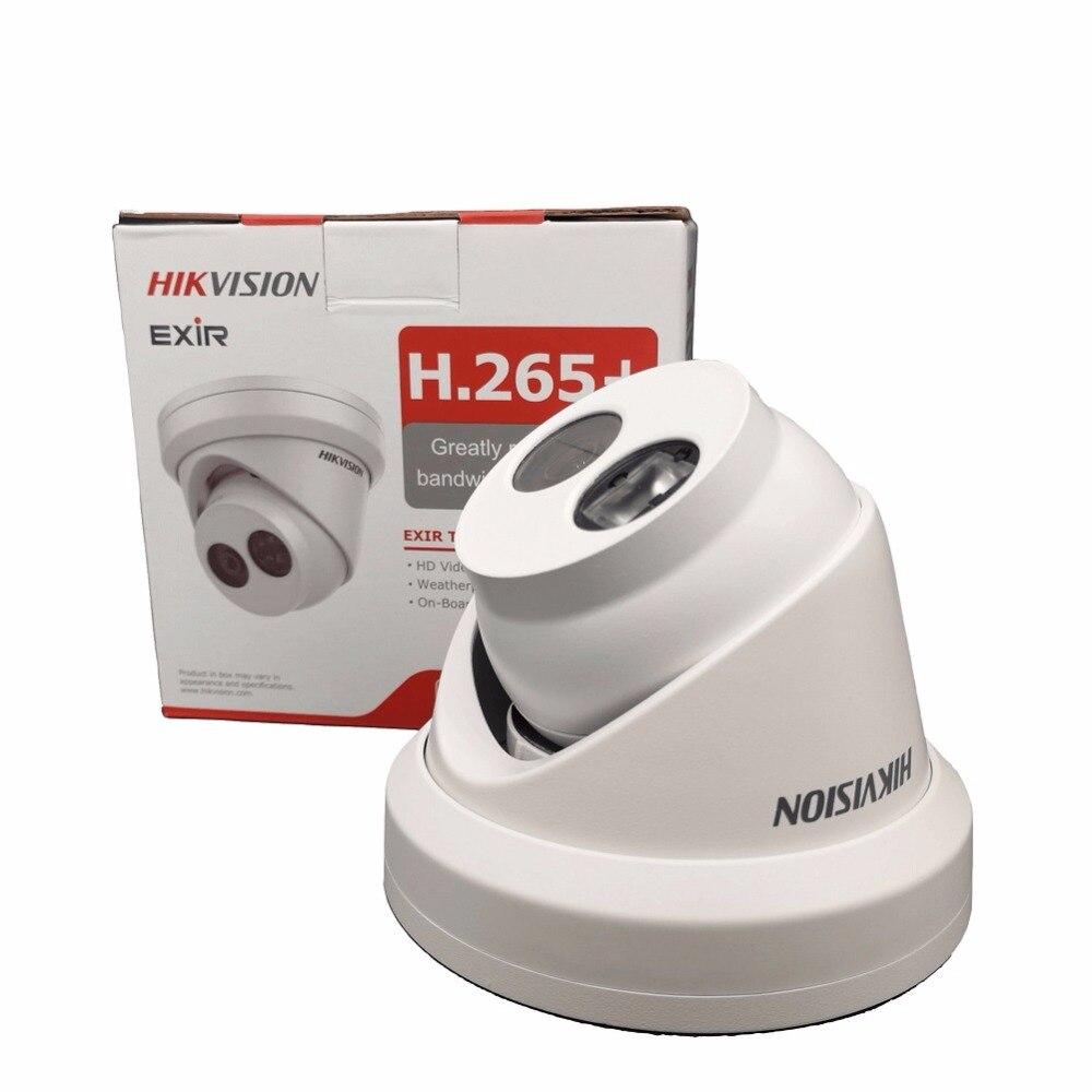 Hikvision 8MP cámara IP DS-2CD2385FWD-I torreta red H.265 Alta Resolución CCTV cámara con ranura para tarjeta SD IP67