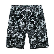 JAYCOSIN Men s Camouflage Quick drying Casual Shorts Summer Shorts Knee Length Army Print Loose Men
