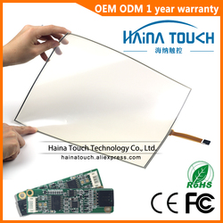 Win10 совместимый гибкий 15 дюймов включает в себя usb-контроллер 4 провода, Резистивная Сенсорная панель экрана для фото киоска/ноутбука