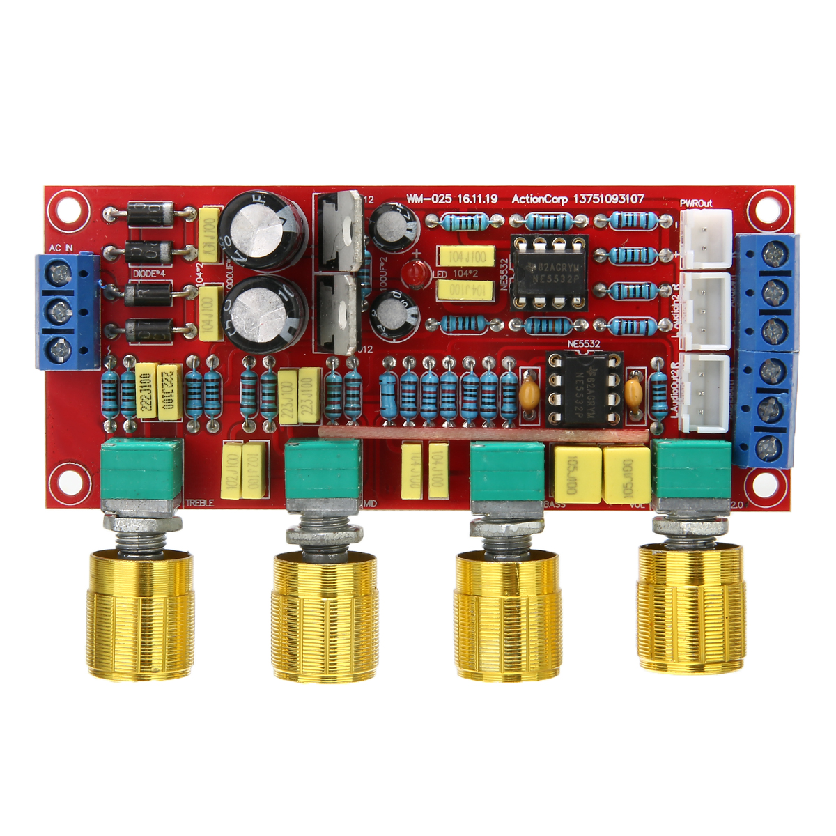 Worldwide delivery audio preamplifier with ne5532 in NaBaRa Online