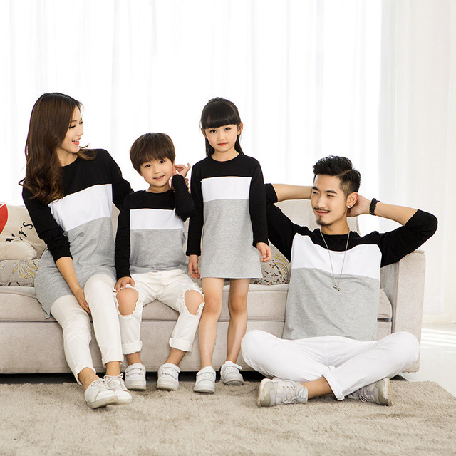 Striped Cotton Family Clothing