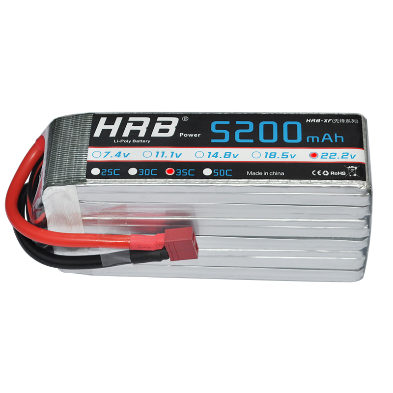 HRB RC Lipo 5S Battery 18.5V 5200mAh 35C Max 70C Airplane Drone AKKU Bateria For FPV Helicopter Car Boat Multicopter Quadcopter xxl high power 3300mah 14 8v 4s 35c max 70c 4s1p akku lipo rc battery for trex 500 helicopter page 8