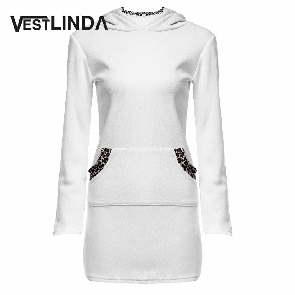 VESTLINDA Stylish Warm Women Sweatshirt Sweatshirts Fashion Leopard Pocket  Design Hoodies Sweatshirt Long Sleeve Autumn Hoodies 04ccd83684