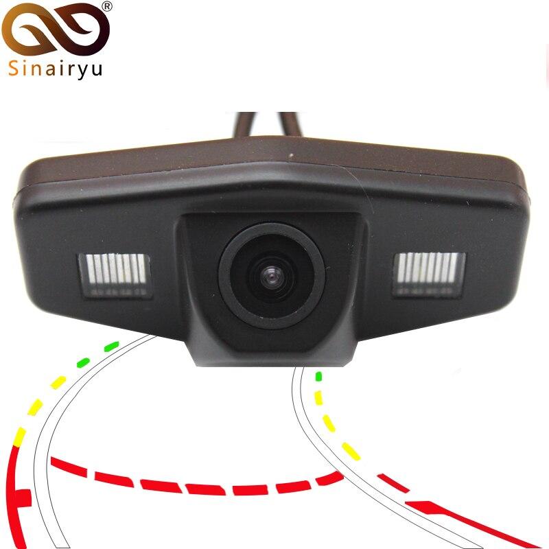 La trajectoire dynamique intelligente suit les véhicules caméra de vue arrière de voiture pour Honda Accord Civic Europe pilote Odyssey Acura TSX