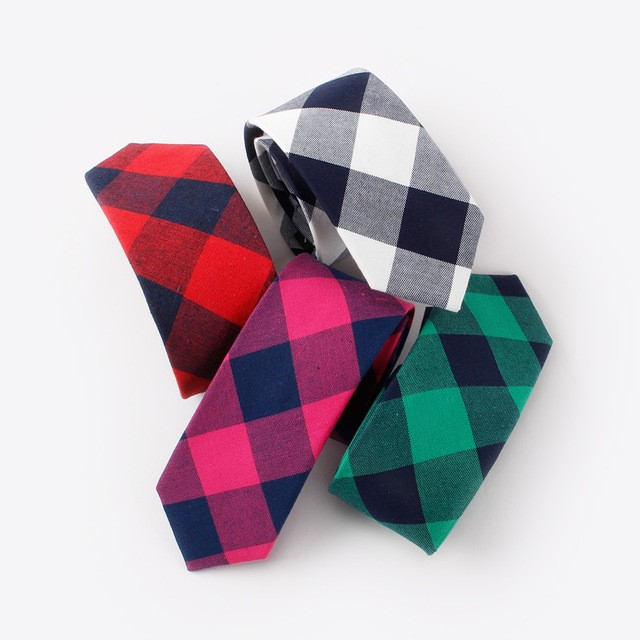 New-Fashion-Brand-Ties-For-Men-Classic-Cotton-Plaid-Necktie-Bowtie-Boy-Accessories-Casual-Red-Striped.jpg_640x640