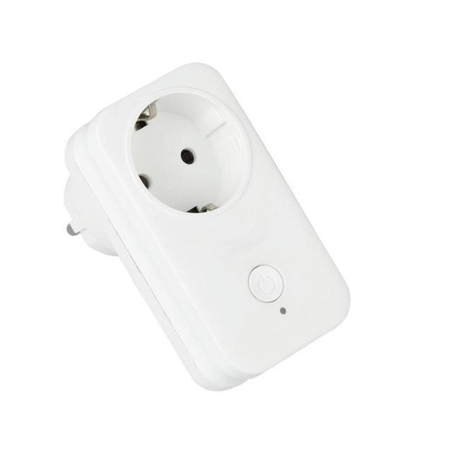 EU WiFi Smart Plug Mini Smart Socket Switch Work With Amazon Alexa ...