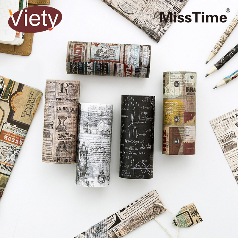 10cm*5m Vintage English newspaper Luggage tag washi tape DIY decoration scrapbooking planner masking tape adhesive tape vintage times design high quality washi tape 10cm 5m diy journal diary decoration supplies gift free shipping