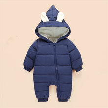 Baby Rompers Winter Baby Boy Clothing Set Cotton Baby Girl Clothes Newborn Baby Clothes Roupas Bebe Infant Jumpsuits Snow Wear