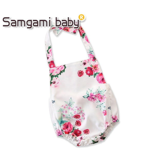 cd1e15045 SAMGAMI BABY Toddler Girls Summer Clothing Sleeveless Floral Print ...