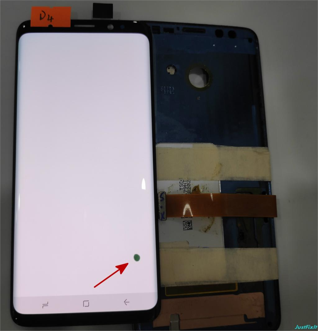 NO D4 For Samsung Galaxy S9 G960 G960f Defect Lcd Display Touch Screen Digitizer Original 5