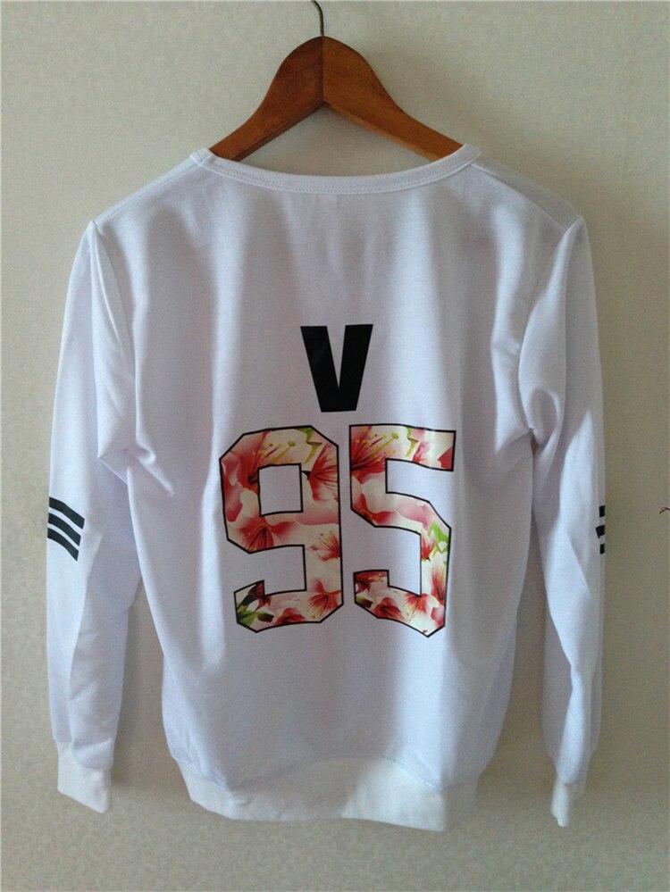 Kpop children BTS 2018 Bangtan mood for love thin unisex t k-pop BTS dress clothes hooded jacket long sleeve shirt top