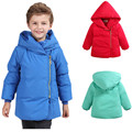 Children Frock Design Duck Down Jacket Boys Girls Winter Warm Down Parkas Coat Kids Casual Hooded Outerwear Clothing 81418