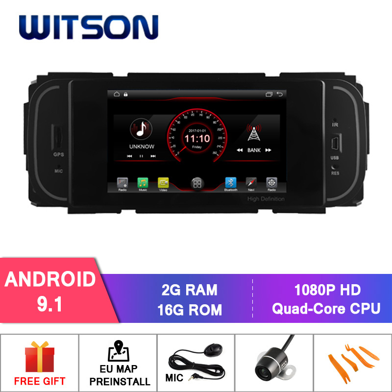 WITSON Android 9 1 car dvd player For For CHRYSLER GRAND VOYAGER Built in OBD Function