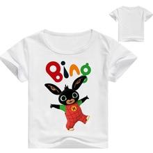 Bing Bung Clothing Rabbit Cartoon T-shirts Summer New Children T Shirt for Children Tops Tees Boys Shirt Kids Clothes T-shirt все цены