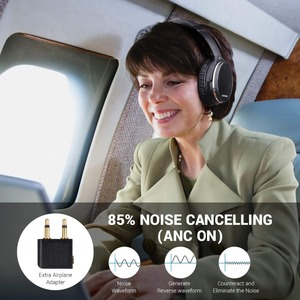 Image 4 - Oneodio Active Noise Cancelling Hoofdtelefoon Bluetooth 4.2 Draadloze Hoofdtelefoon Met Apt X Lage Latency Opvouwbare Headset Voor Pc Tv