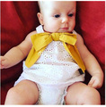 Wholesale 5sets/lot toddler girls clothing sets summer bow-knot (shirt+shorts) baby kids girls suit 1-4T sylvia 545399729934
