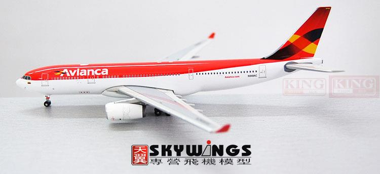 AVIANCA A330-200 N948AC 1:400 Phoenix commercial jetliners plane model hobby 11010 phoenix australian aviation vh oej 1 400 b747 400 commercial jetliners plane model hobby