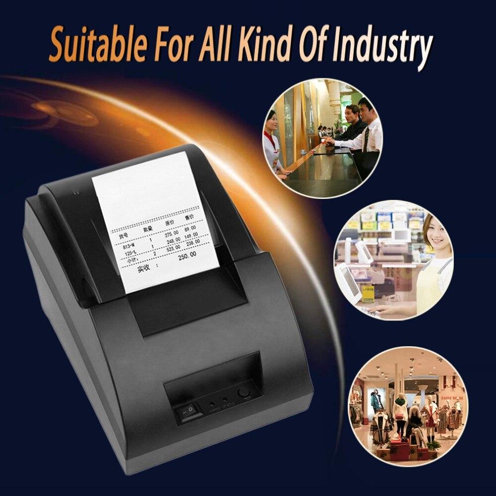 Термальность принтер 58 мм USB порт POS чековый принтер 5890c для кассовых аппаратов в супермаркете высокая скорость eletronic