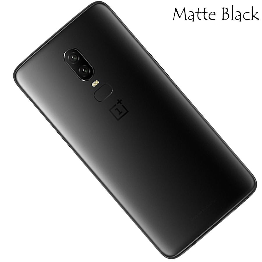 100% Original ONEPLUS 6 Glass Rear Housing Cover,Replacement Back Door Battery Case For Oneplus 1+6 6T With Camera Lens Glass