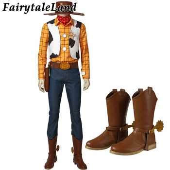 Toy Story Woody Cosplay Costume Halloween Cosplay Costume Cowboy Mascot Costume suit Woody Costume Custom Made - DISCOUNT ITEM  37% OFF All Category