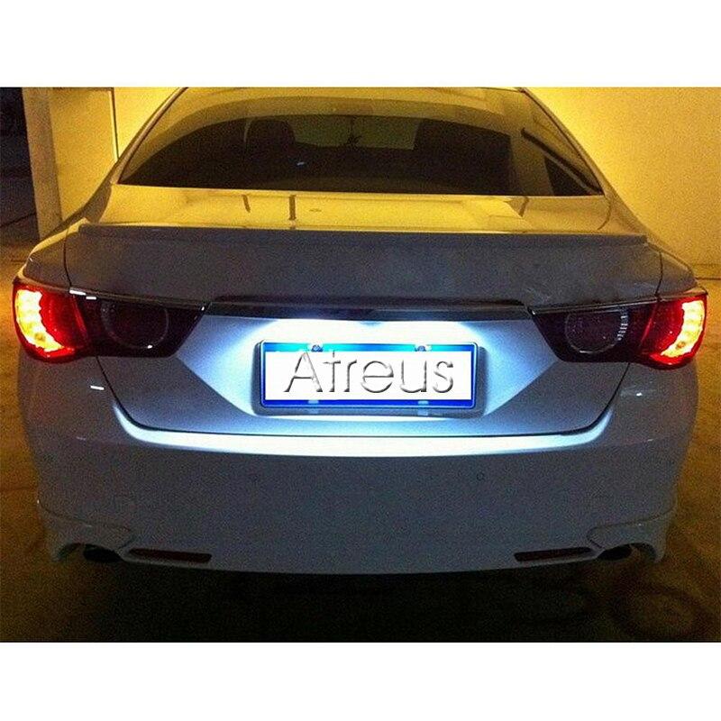 Atreus Mobil LED Lampu Plat Untuk Mercedes W211 W203 5D W219 R171 - Lampu mobil - Foto 6
