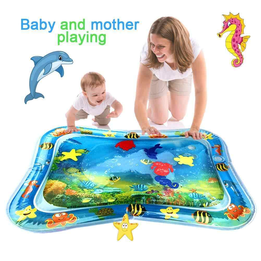 Venta caliente bebé niños agua mat inflable bebé barriga tiempo alfombra de bebé para bebé actividad divertida jugar Centro DropshipTSLM1