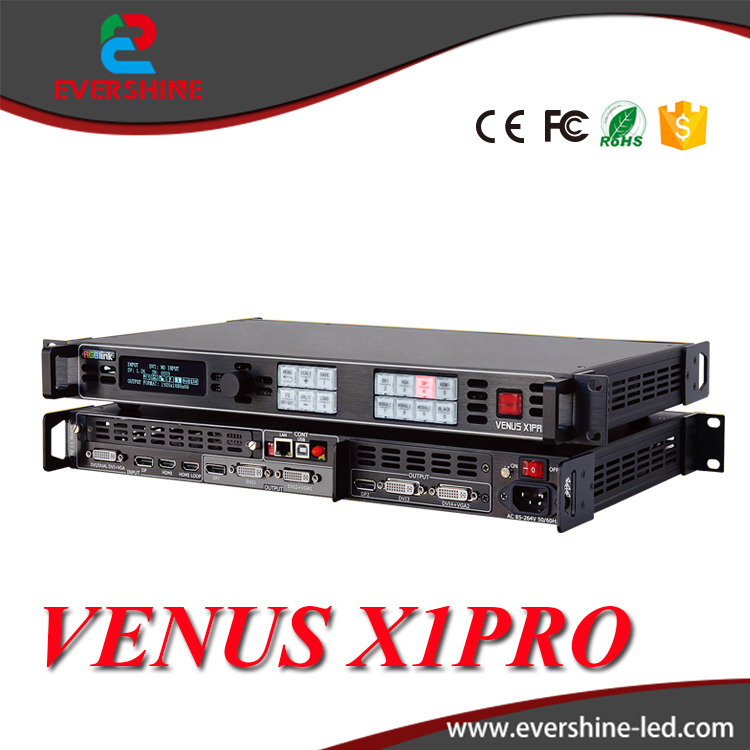 RGBlink VENUS X1PRO Simple Professional 4K Input Scaling and Switching LED Video Processor wavelets processor