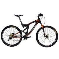 Beiouคาร์บอนระงับคู่ภูเขาจักรยานทุกภูมิประเทศ27.5นิ้วmtb 650Bจักรยาน10ความ