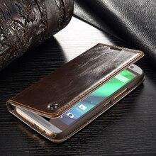 Чехол m e PH One случаях Fundas для HTC One m 9 бизнес-кейс Капа для HTC m 9 м 9 Натуральная кожа Магнит флип бумажник чехол