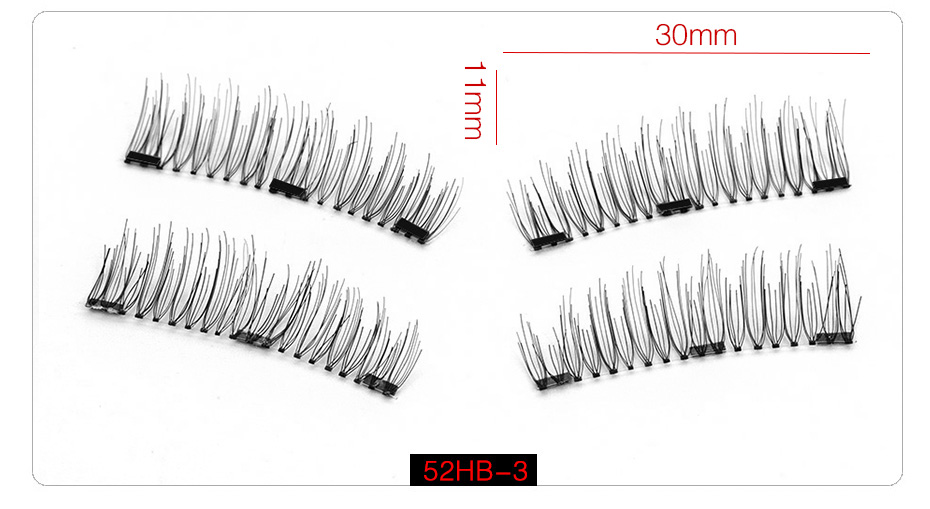 3d Magnetic False Eyelashes (10)