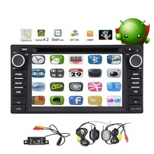 6.2 Inch Android 4.2 in Dash Double Din 800*480 Hd Touch Screen Car DVD Player Am/fm Radio GPS Navigation Navi Stereo Support 3g