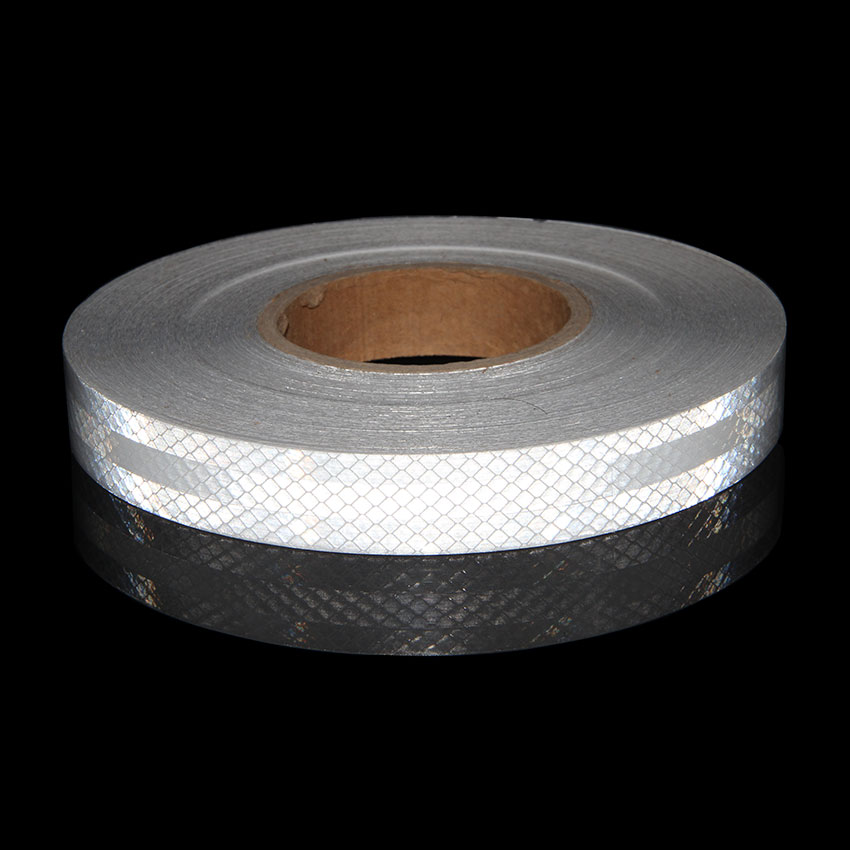 "3M White 3930 High Intensity Prismatic Reflective  Tape 15//16/"" X 50 feet"
