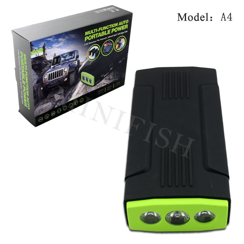 High Quality 68000mAh Multi-function Mini Portable Jump Starter Start 12V Vehicle Engine Battery Charger Power Bank