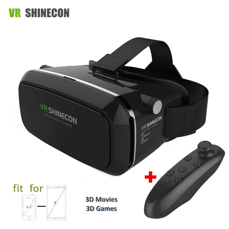 Virtual Reality Smartphone 3D font b VR b font Glasses Goggles Head Glasses Mount Moblie Helmet