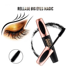 Водостойкая 4D шелковая 3d тушь для ресниц Rimmel для наращивания ресниц, черная Толстая Удлиняющая Косметика для макияжа глаз