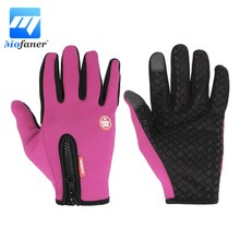 Mofaner Ski Bike Gloves Motorcycle Cycling Touch Screen Winter Gloves Windproof Warm Full Finger Glove Racing Guantes Motocross