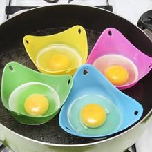 MOM'S HAND 3 шт./компл. силиконовый яйцо-яйцо чашки Посуда-Микроволновая печь яйцо Плита или яйцеварка