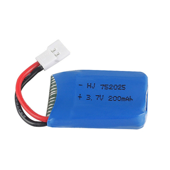 3.7V 200mAh li-po Battery 702025 For Syma X4 X11 X13 Remote Control Plane Aircraft Battery Lithium Battery Model Aircraft image
